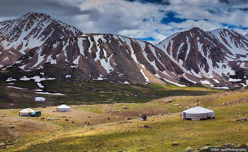 western Mongolia Altai mountain