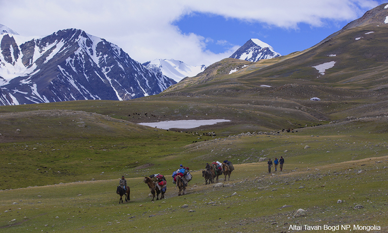 Mongolia hiking and trekking tour