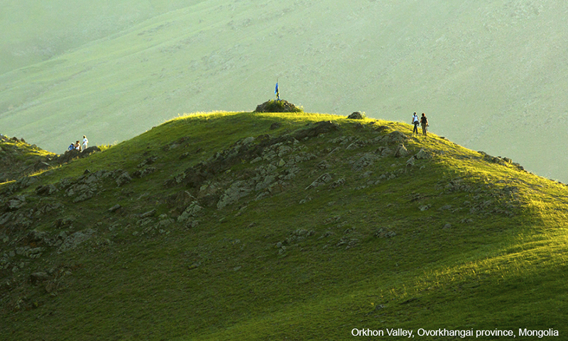 Orkhon Valley hiking tour