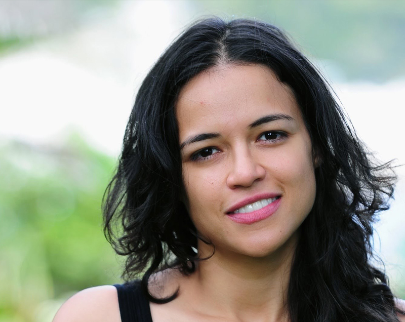 Michelle Rodriguez in Mongolia