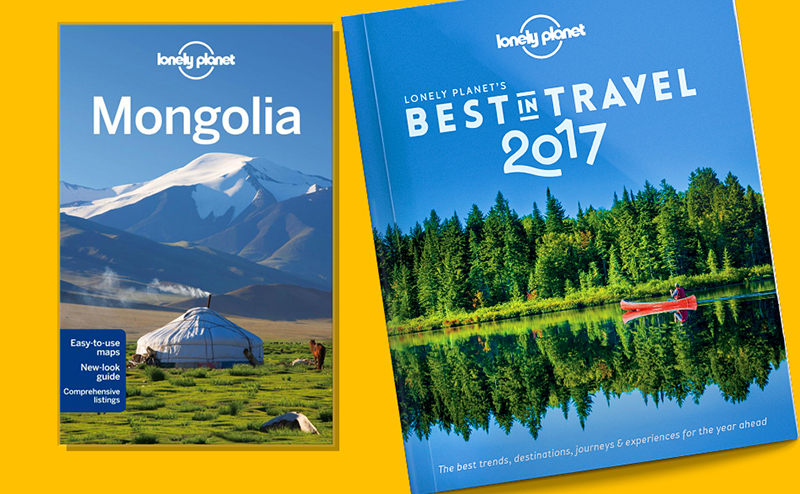 Mongolia guide book by Lonely planet