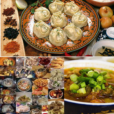 Recipes of Mongolian Foods
